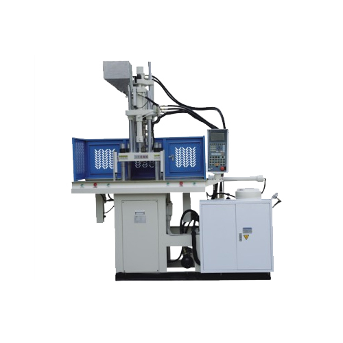Slide Type Vertical Injection Moulding Machine