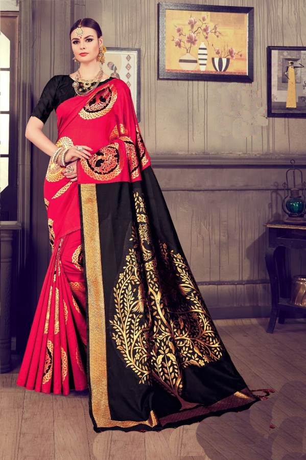Bhagalpuri Fancy Printed Saree