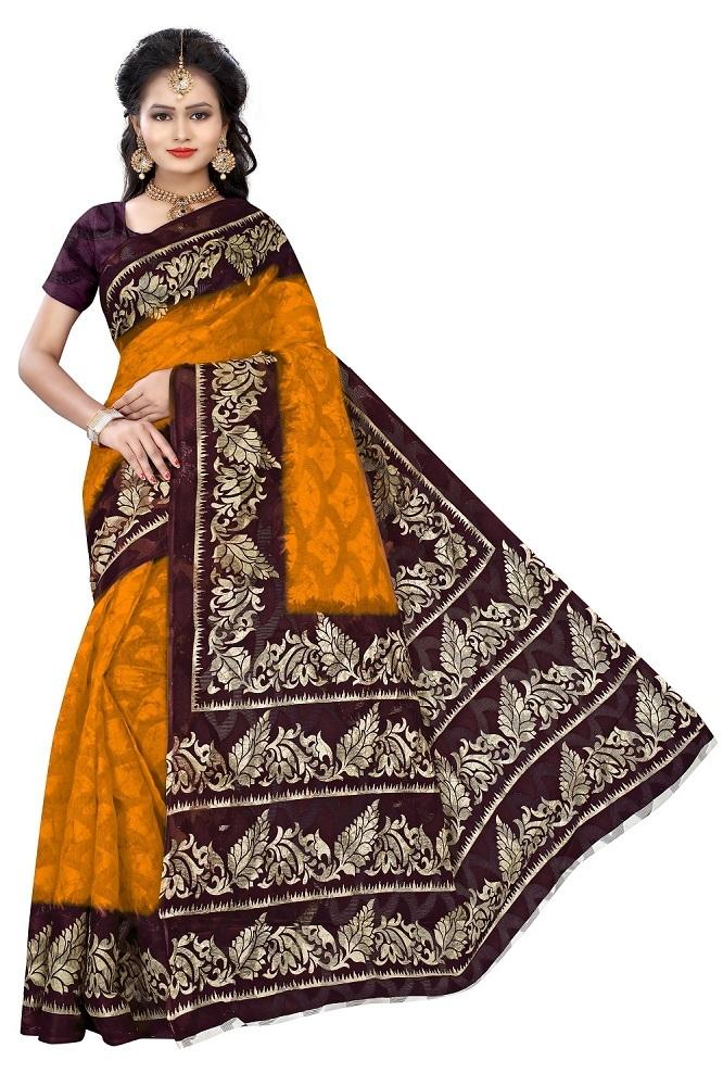 Fancy Ladies wear Bhagalpuri Silk Sarees