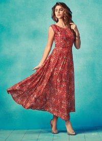 Fancy Long Gown Style Kurti