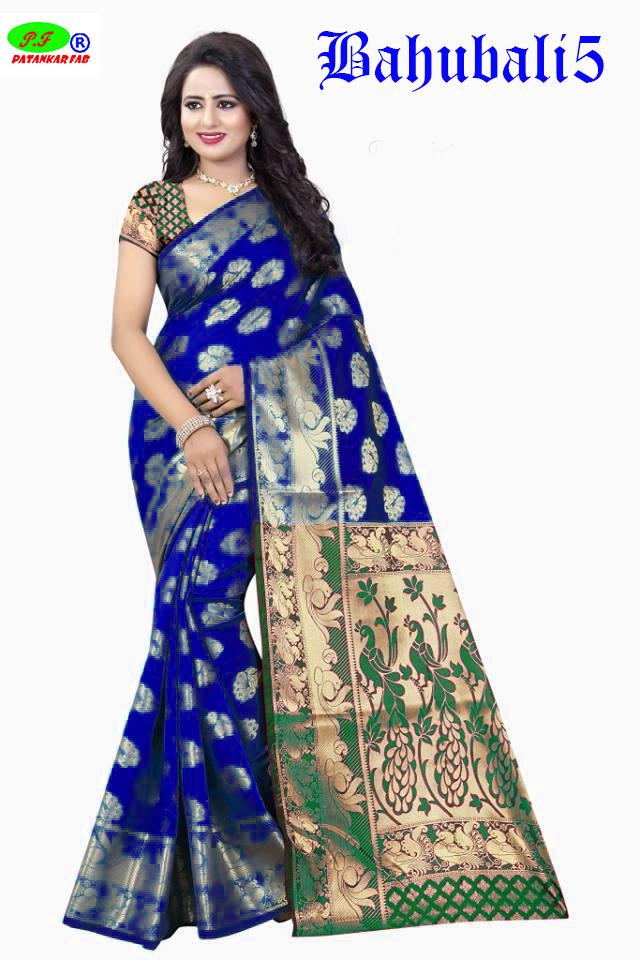 Fancy Designer Banarasi Silk Saree