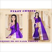Pure Cotton Silk Printed Saree