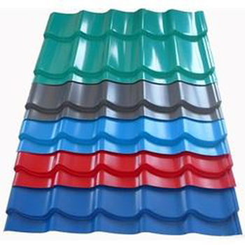 Color Coated Steel Roofing Sheets