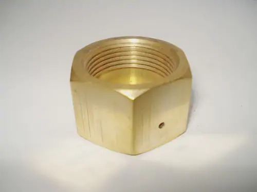 Brass Gas Hex Nut