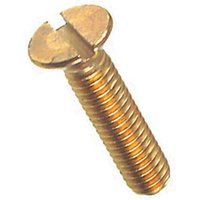 Brass Countersunk Slotted Machine Screws