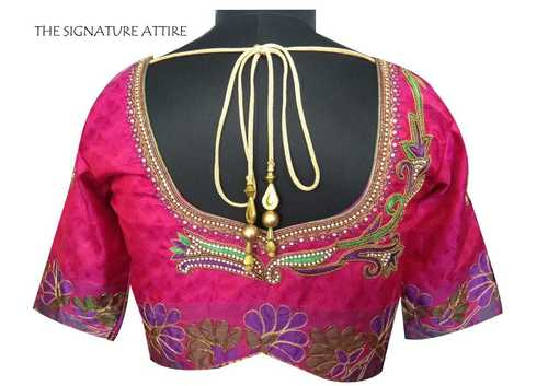 Silk Blouse with Threads