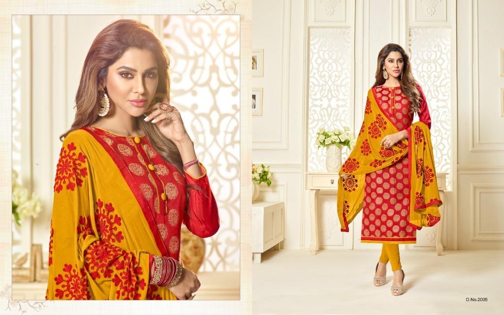 Traditional Banarasi Jacquard Suits