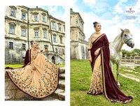 Designer Embroidery Work Sarees