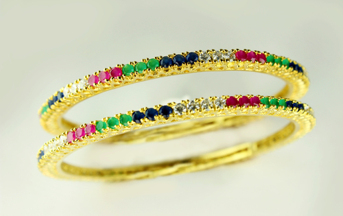 Coloured Raya Bangles