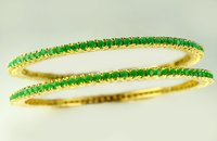 Emerald Raya Bangles