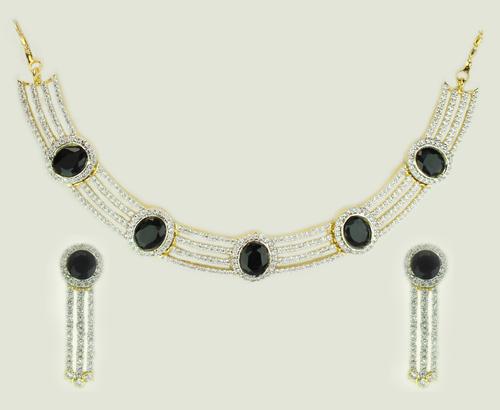 Black Blaze Necklace