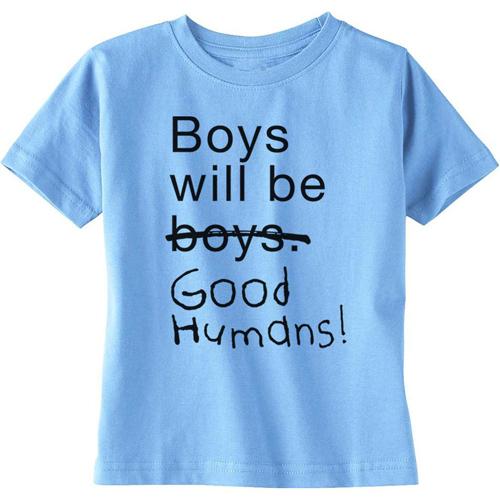 Blue Casual T Shirt