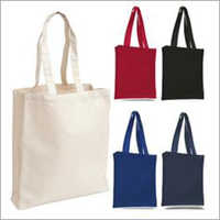 Cotton Canvas Tote Bags Natural Medium