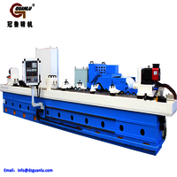 Gun drilling machine for gun barrel