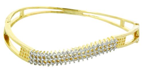 Diamond Coil Bracelet