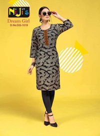 Exclusive Cotton Printed Kurtis