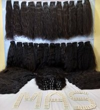 Indian  Temple Virgin Human Hair