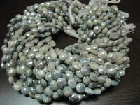 Best Quality AB Mystic Coated Gray Silverite Beads