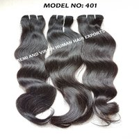 9a natural indian virgin human hair extension