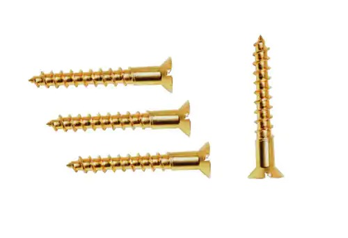 Phillips Head Brass Machine Screws