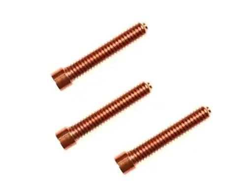 Flat Head Copper Contact Screws