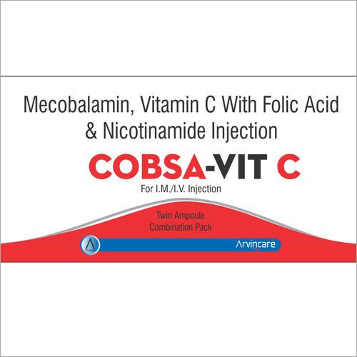 Vitamin C, Folic Acid & Nicotinamide Injection