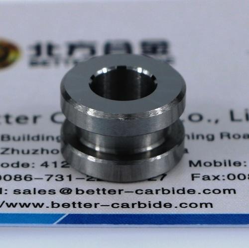 Tungsten Carbide Valve Seat port 6.35mm, 1/4 inch