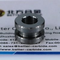 Tungsten Carbide Valve Seat port 6.35mm, 1/4 inch