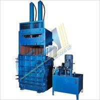 Double Cylinder Vertical Corrugated Scrap Baler