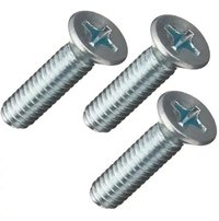 Flat Head Metal Machine Screws