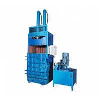 Double Cylinder Vertical Plastic Baler