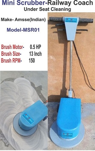 Mini Floor Scrubber