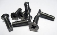 Flat Machine Screws