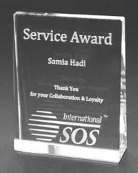 Service Awards Trophies