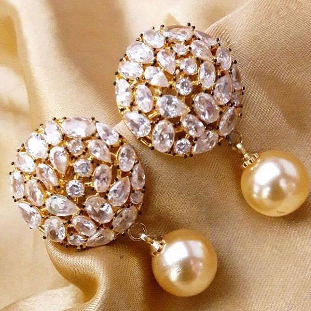 Diamond Gold Designer Earrings