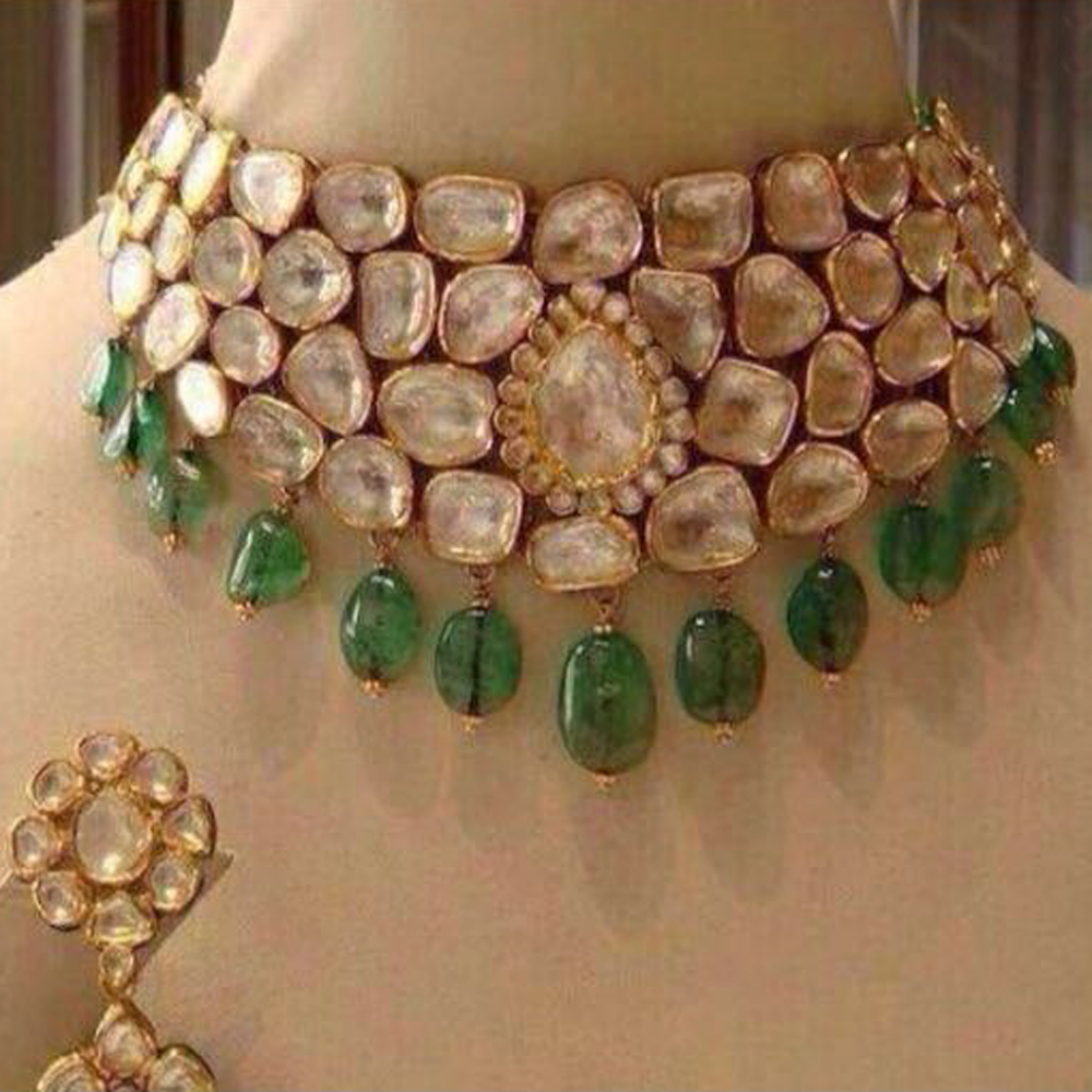 Diamond Kundan Polki Jewellery
