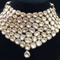 Diamond Kundan Polki Necklace