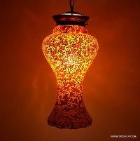 Vintage Pendant Glass Shade Hanging Lamp Hanging Pendant Glass Light Lamp