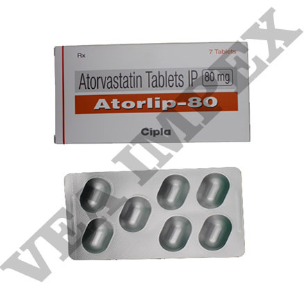 Atorlip 80 mg Tablets