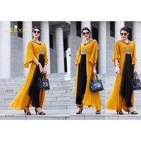 Fancy Rayon Gown Kurtis