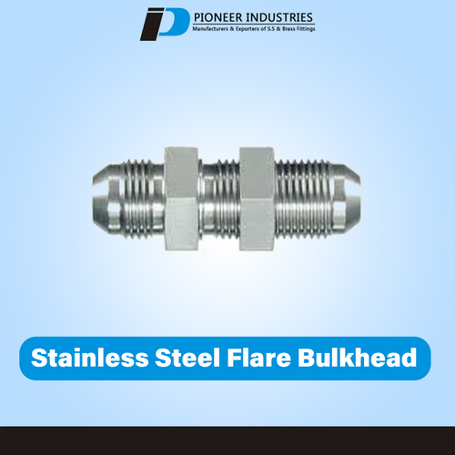 Stainless Steel Flare Bulk Head Union