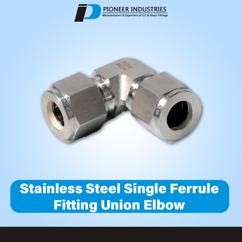 WSV - Bulkhead Union Elbow