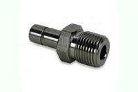 Stainless Steel Double Ferrule Male Adapter