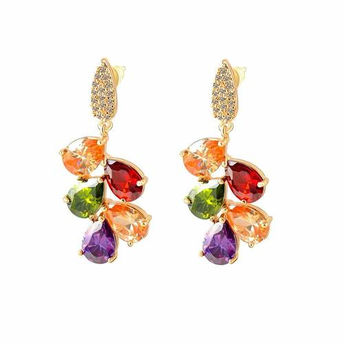 18K Real Gold Plated Dangle & Drop Earring