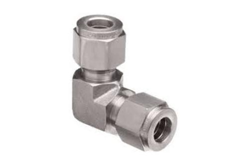Stainless Steel Double Ferrule Elbow Union