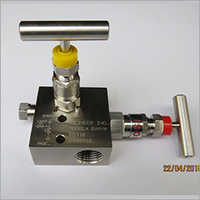Straight Type Pipe To Pipe 2 Way Manifolds Valves
