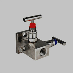 H Type Pipe To Flange 2 Way Manifolds Valves