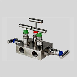Straight Type Pipe To Pipe 5 Way Manifolds Valves