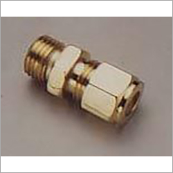 Brass Compression Fitting Male Connector