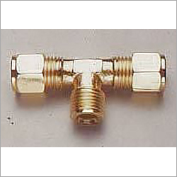 Brass Compression Fitting Branch Tee